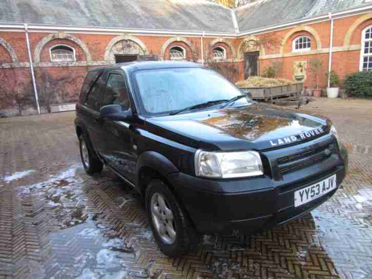 FREELANDER LAND ROVER COMMERCIAL~ SPARES OR REPAIR