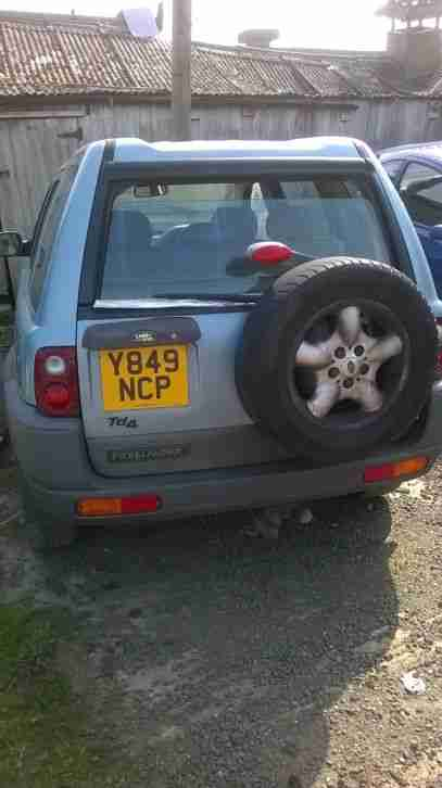 FREELANDER TD4 2001 SPARES OR REPAIR
