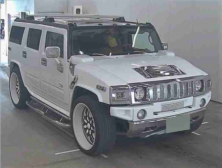 FRESH IMPORT 2005 HUMMER H2 6.0 PETROL AUTO SHOW SUV 10 SCREENS LOOKS AMAZING