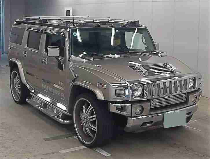 FRESH IMPORT 2005 HUMMER H2 6.0 PETROL AUTO SHOW SUV 26 WHEELS LOOKS AMAZING