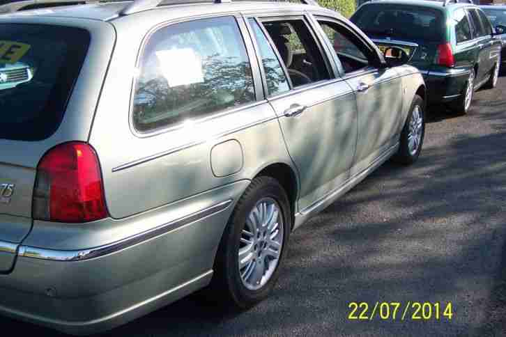 FULL 12 MONTH MOT ROVER 75 BMW 2.0ltr DIESEL TOURER