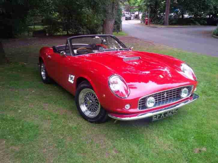 Ferrari 250 Gt California Spyder 1963 Recreation Car For Sale