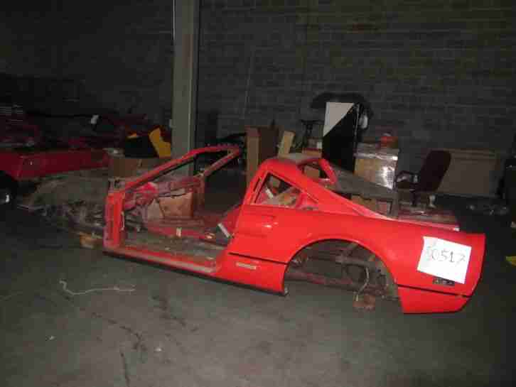 Ferrari 308 Bodyshell chassis 1985 308 GTS QV for restoration or 288 GTO Rep