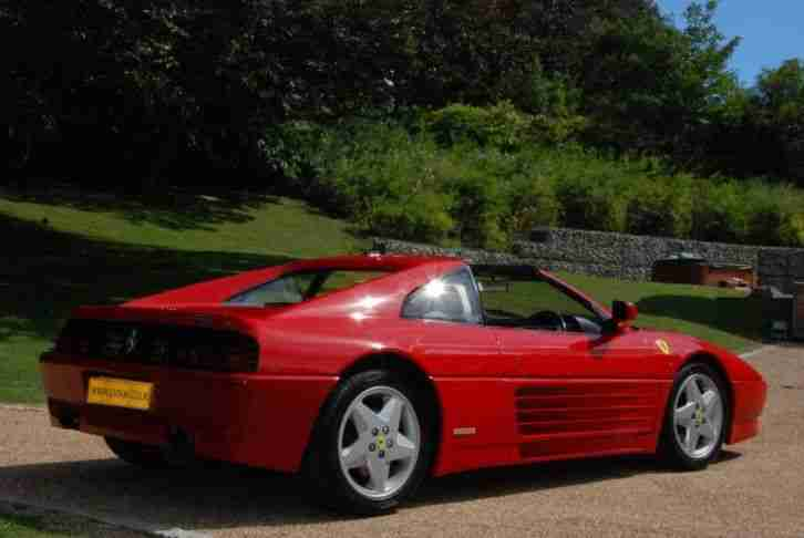 Ferrari 348 TS LOW MILEAGE PETROL MANUAL 1991/J