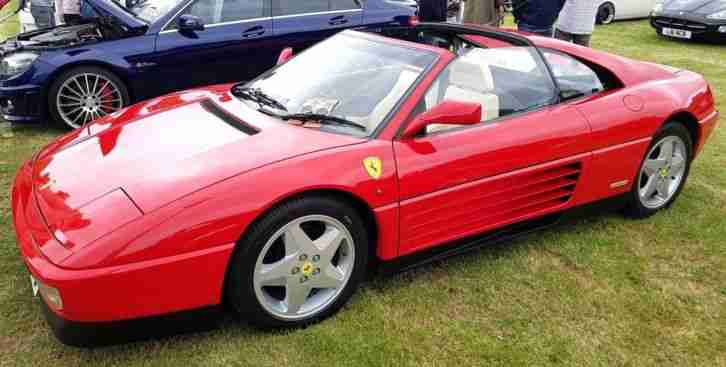 Ferrari 348TS. Ferrari car from United Kingdom