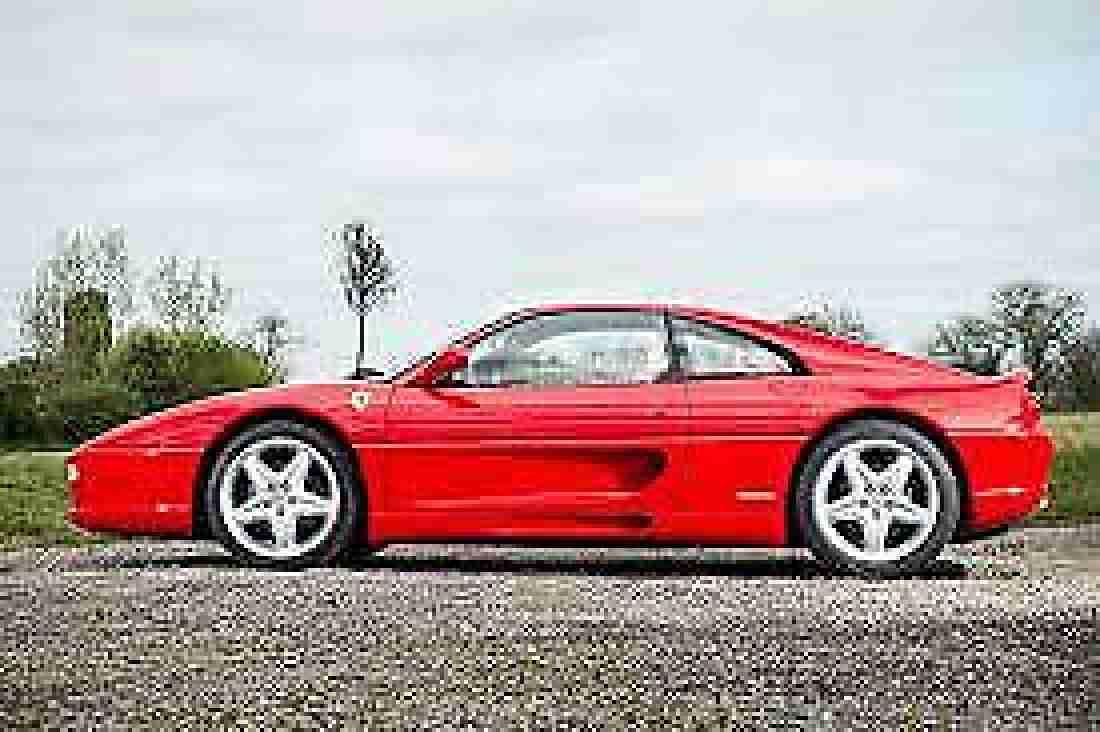Ferrari 355 GTS 1997 Manual ONLY 22,000mls FSH Most desirable Rosso Crema Spec