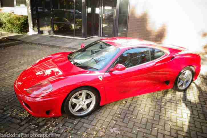 Ferrari 360 F1 Modena 2000 3.6 V8 35900 miles Red with Black Leather
