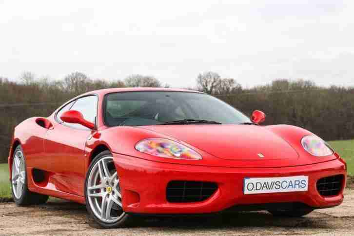 Ferrari 360 Modena Coupe Manual Red **ONLY 14,800 MILES** 2001