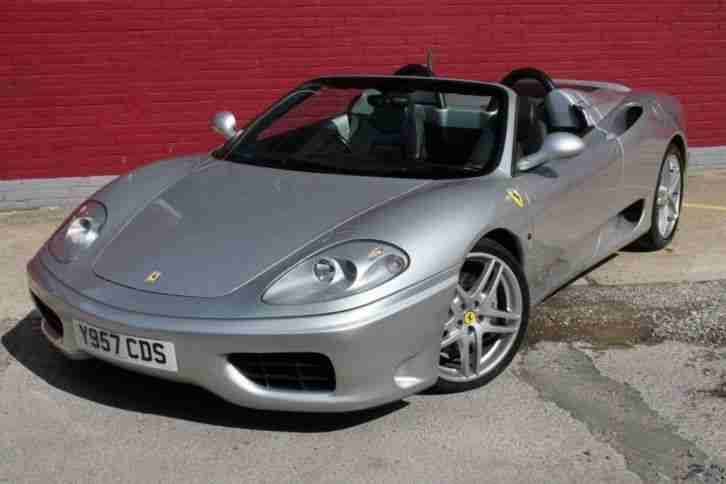Ferrari 360 Spider Convertible 400 BHP 3.6 Litre Manual