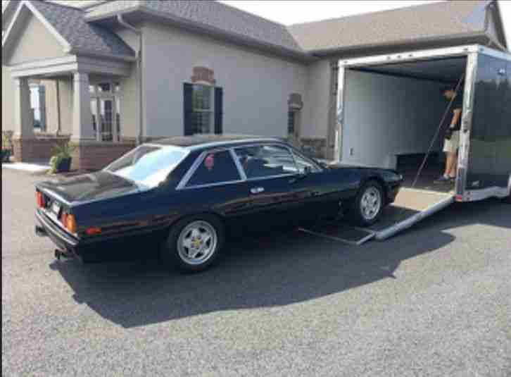 Ferrari 412 1986, V12 coupe, 47k miles, original tools and books, priced to sell