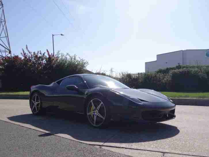 Ferrari 458 Italia - 2012 '12'. 5800miles, Black/Black with Yellow Stitching