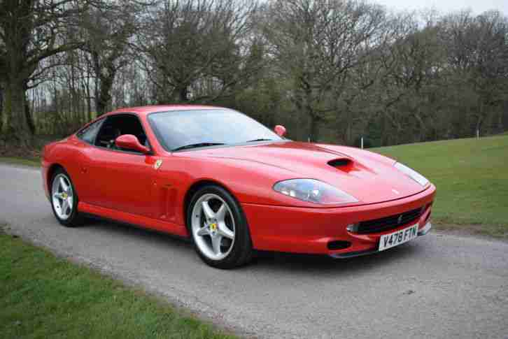 Ferrari 550 Maranello manual LHD left hand drive 16,000 miles only from new