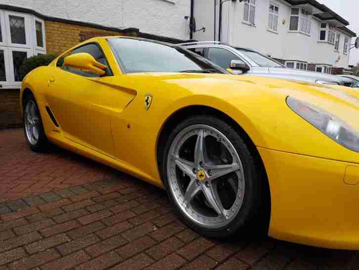 Ferrari 599 GTB Fiorano F1 V12 in fantastic conditions
