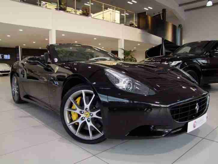 Ferrari California Convertible. Ferrari car from United Kingdom