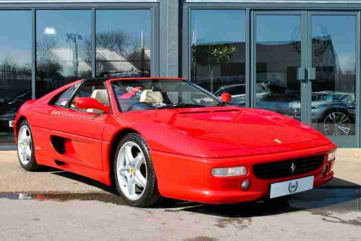 F355 3.5 GTS 2dr Manual 1997 P Rosso
