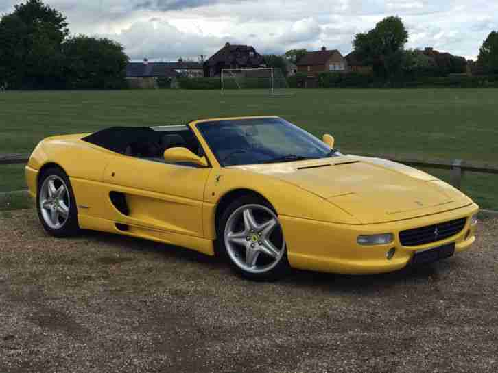 Ferrari F355 3.5 Spider 2dr - Collectors Item