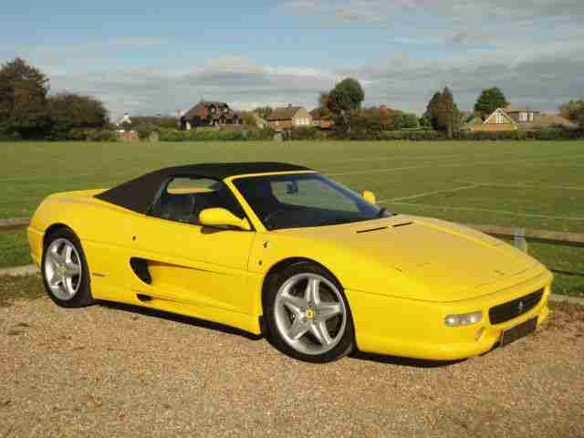 ferrari f355 spider 2dr 1997 car for sale. Black Bedroom Furniture Sets. Home Design Ideas