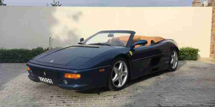 Ferrari F355 Spider. Ferrari car from United Kingdom