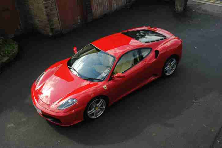 F430 2dr 4.3 WITH SAT NAV+PARK