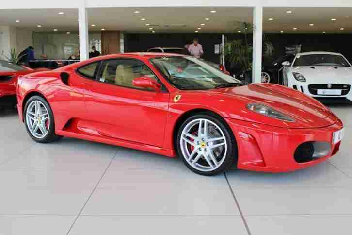 Ferrari F430 V8. Ferrari car from United Kingdom