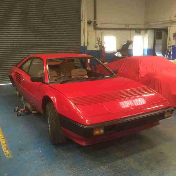 Ferrari Mondial 1987 Project Spares. Car For Sale