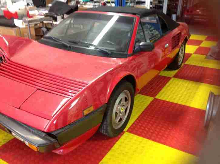 Ferrari Mondial Cabriolet Quattrovalvole Lhd Project Car