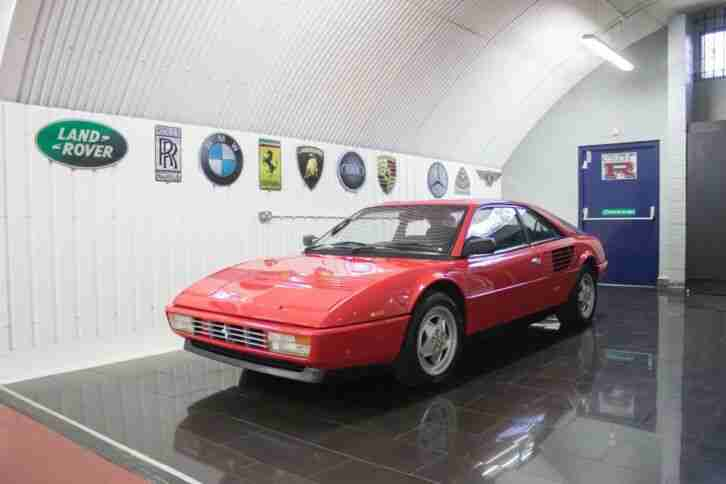 Ferrari Mondial RHD. Ferrari car from United Kingdom