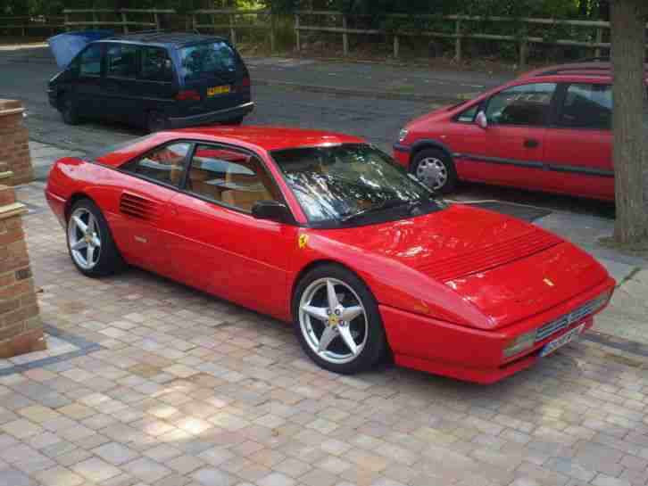 ferrari mondial t one of only 45 rhd coupe 39 s built by car for sale. Black Bedroom Furniture Sets. Home Design Ideas