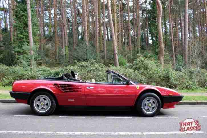 Mondial Very Rare RHD Convertible