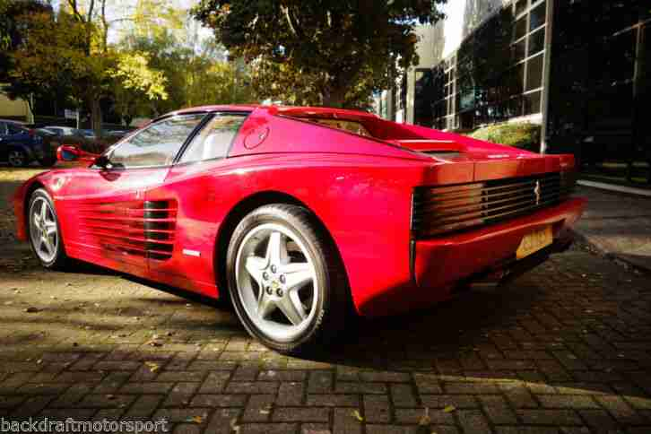 Ferrari Testarossa 5.0 V12 1991 Red with Cream Leather 29,000 miles