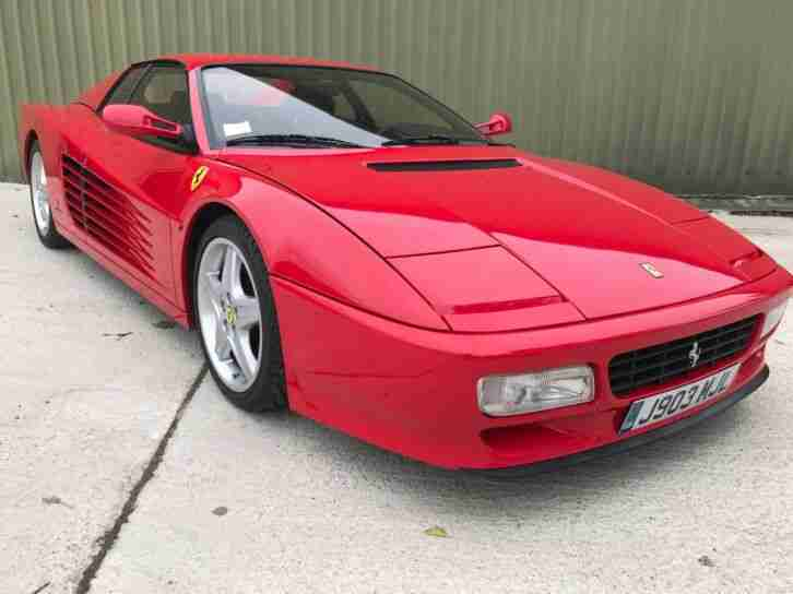 Testarossa 512TR LHD with low mileage