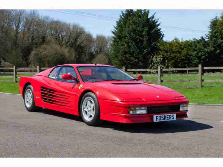 Ferrari Testarossa Collectors Car Price Reduced Car For Sale