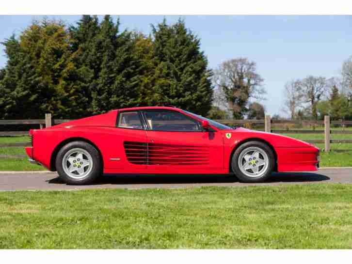 Ferrari Testarossa Collectors car PRICE REDUCED. car for sale