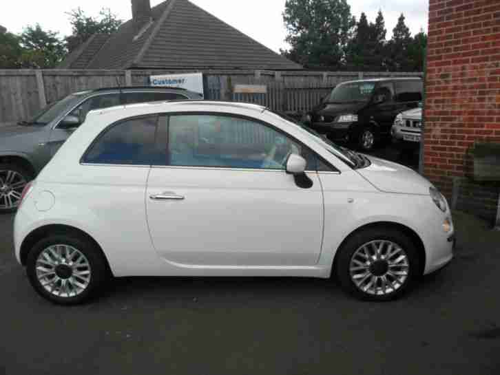 Fiat 500 1.2 ( 69bhp ) ( s s ) 2015 64LOUNGE PAN SUNROOF IN WHITE