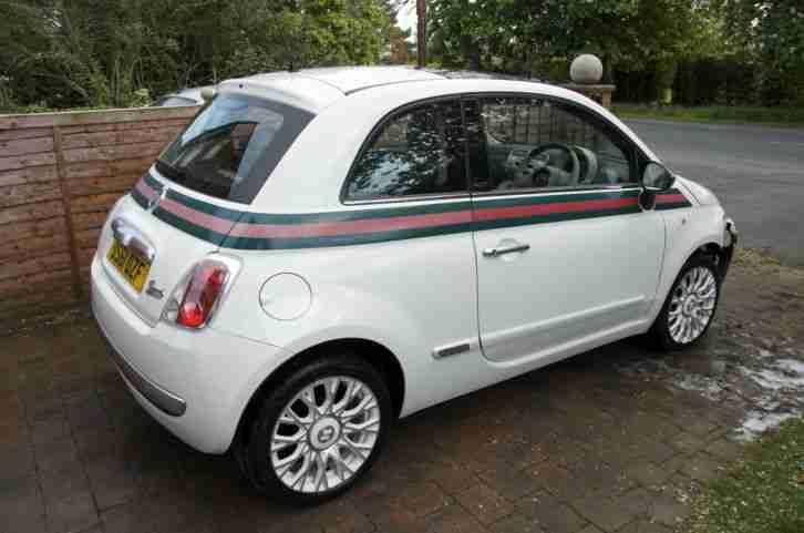 fiat 500 gucci edition 1 2 2012 light damaged salvage car for sale. Black Bedroom Furniture Sets. Home Design Ideas