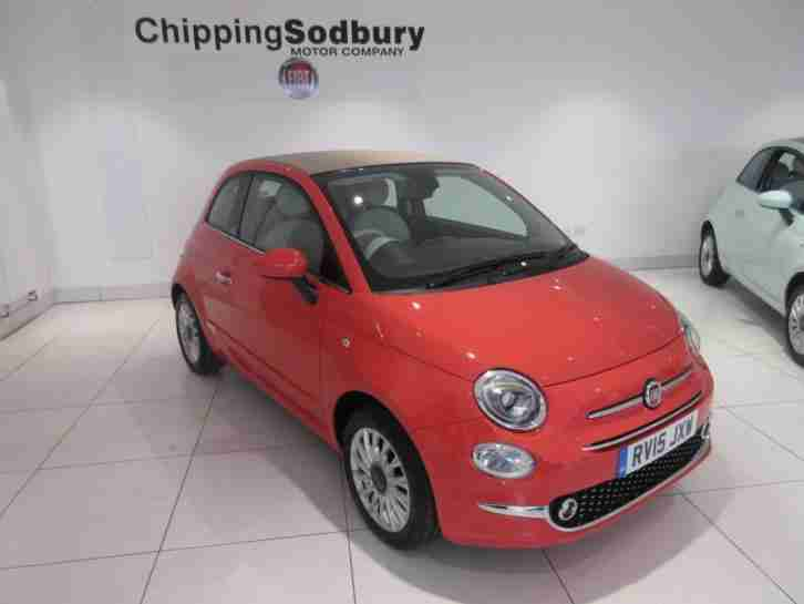 Fiat 500c 1.2 Lounge PETROL MANUAL 2015/15