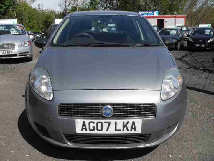 fiat grande punto 1 2 active 2007 91000 miles rac approved dealer. Black Bedroom Furniture Sets. Home Design Ideas