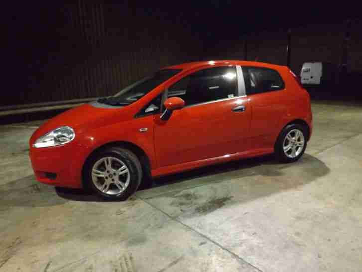 fiat grande punto 1 2 active 57 reg manual car for sale. Black Bedroom Furniture Sets. Home Design Ideas