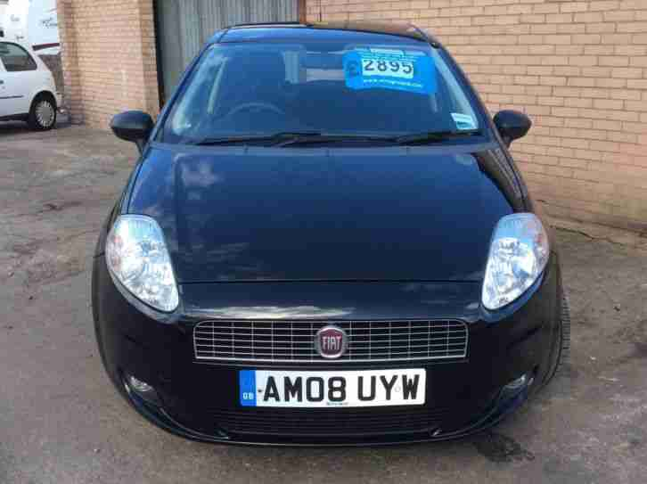fiat grande punto 1 2 active aircon 2008 low miles car for sale. Black Bedroom Furniture Sets. Home Design Ideas