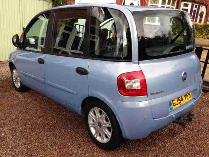 fiat multipla 1 6 16v eleganza 2004 service history car for sale. Black Bedroom Furniture Sets. Home Design Ideas