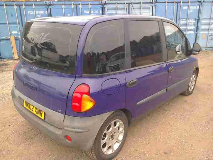 Fiat Multipla 1 9 Jtd 2002reg   Car For Sale