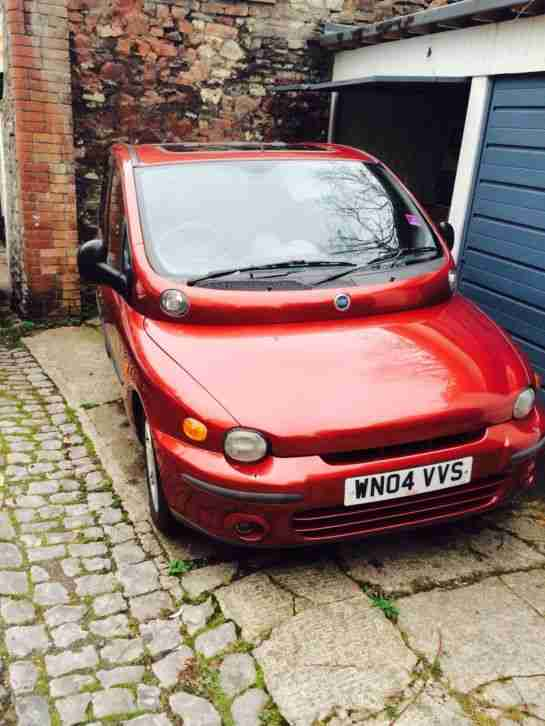 Fiat Multipla 1.9. Fiat car from United Kingdom