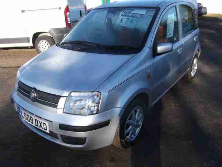fiat panda 1 2 2009 only 19k silver alloys full mot. Black Bedroom Furniture Sets. Home Design Ideas