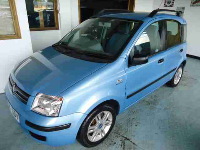 Fiat Panda 1.2. Fiat car from United Kingdom