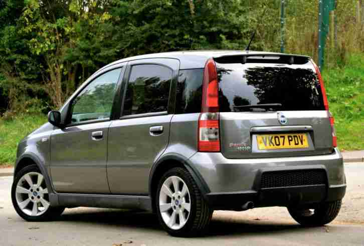 fiat panda 1 4 16v 100hp 2007 grey car for sale. Black Bedroom Furniture Sets. Home Design Ideas