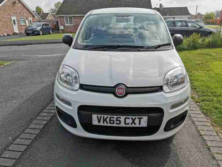 Fiat Panda Pop. Fiat car from United Kingdom