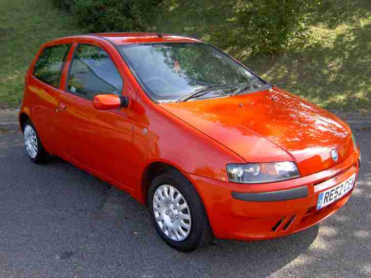 fiat punto 1 2 60bhp active 3 door drives well car for sale. Black Bedroom Furniture Sets. Home Design Ideas