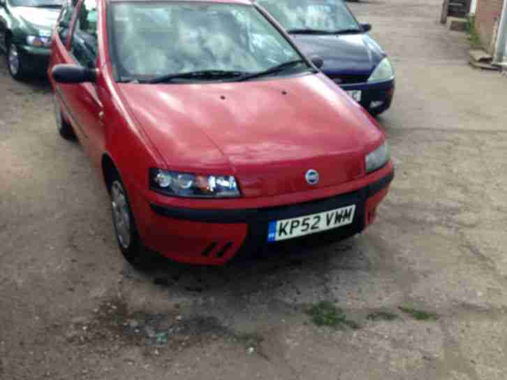 Punto 1.2 ( 60bhp ) Active mot tax ready
