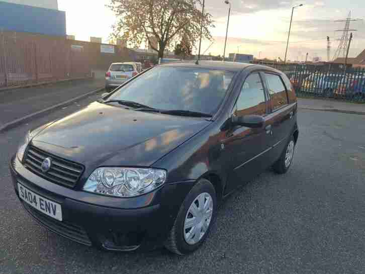 Fiat Punto 1.2. Fiat car from United Kingdom