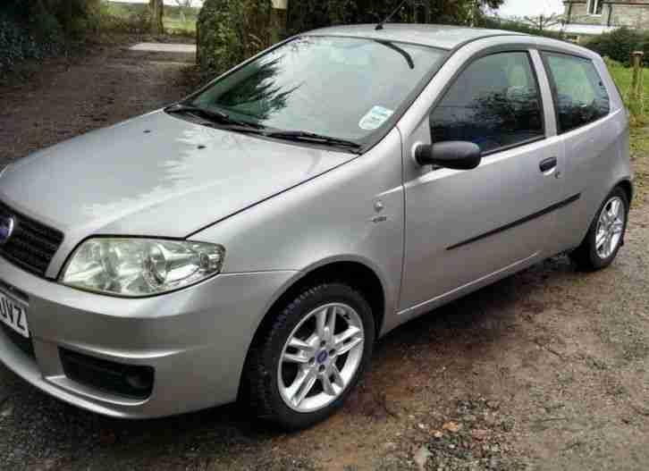 fiat punto 1 2 active sport 16v grey silver 2004 car for sale. Black Bedroom Furniture Sets. Home Design Ideas